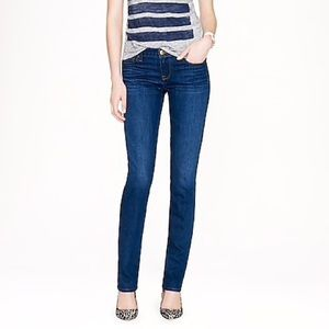 J. Crew Matchstick straight leg jeans